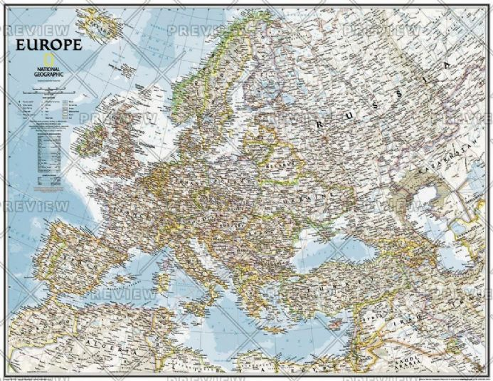 Europe Classic by National Geographic